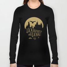 Hogwarts is My Home Long Sleeve T-shirt