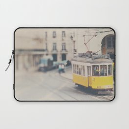 city trams ...  Laptop Sleeve