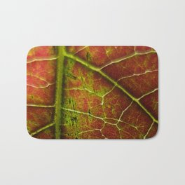 Autumn texture Bath Mat