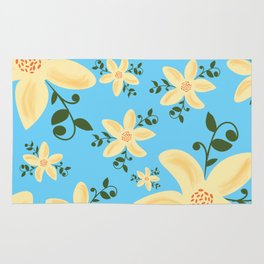 Springy Flowers Rug