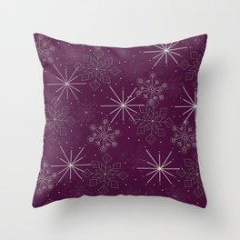 Let it Snow berry Throw Pillow