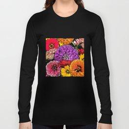 Power Flowers Long Sleeve T-shirt