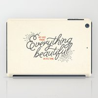 pocketfuel iPad Cases featuring EVERYTHING BEAUTIFUL by Pocket Fuel