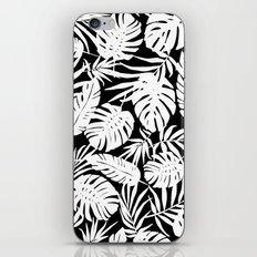 Urban Jungle Black iPhone Skin