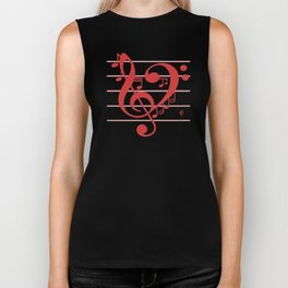 Love Music ~ Valentines Edition ~ Biker Tank