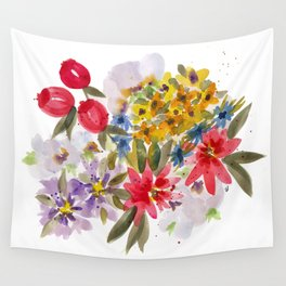 Farmers Market Bouquet 1 Wall Tapestry