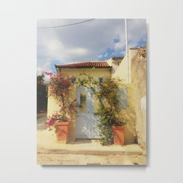 House in Athens, Greece Metal Print
