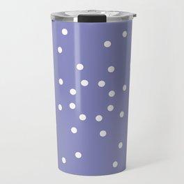 Purple round shape Travel Mug