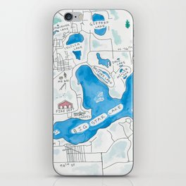 Big Star Lake iPhone Skin