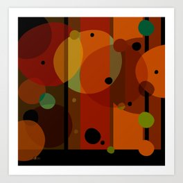 Technicolor (Pattern) Art Print