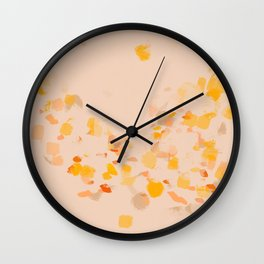 Lanterns In The Summer Sky Wall Clock