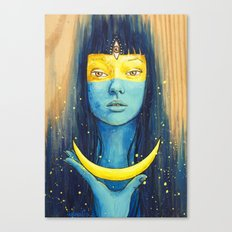 Wisdom of Luna Canvas Print