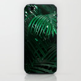 Lush green tree iPhone Skin