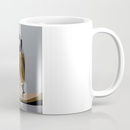 Cartoon sparrow feeding time Coffee Mug