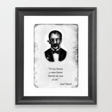 Zombie Marti Framed Art Print