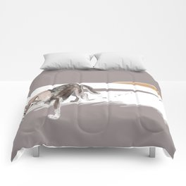 Totem Russian Wolf Comforters