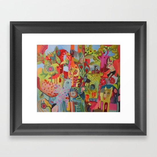 Life Long Ride  Framed Art Print