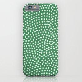 Aquamarine Samekomon Minimalist Geometric iPhone Case