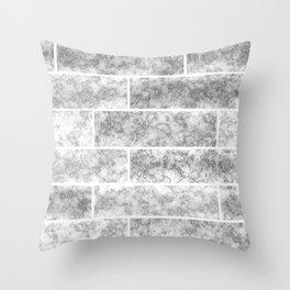 loft, light gray Throw Pillow