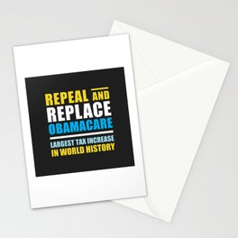 Repeal And Replace Obamacare Stationery Cards