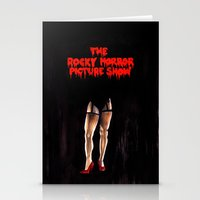 rocky horror Stationery Cards featuring RHPS by Zombie Rust
