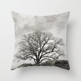 Devil's Den Tree Throw Pillow