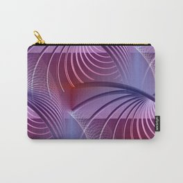 tunnel pattern -1- Carry-All Pouch