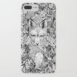 hidden fox iPhone Case