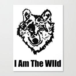 The Wild Rough Draft Canvas Print