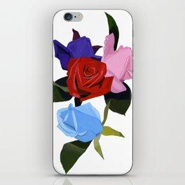 Four roses iPhone Skin