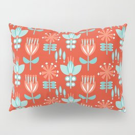 Whirlygig Floral Pillow Sham