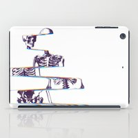 skeleton iPad Cases featuring Skeleton by Ali GULEC