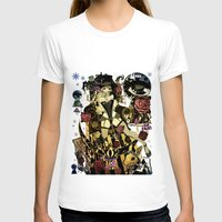 mad hatter T-shirts featuring MAD ALICE: HATTER by Chandelina