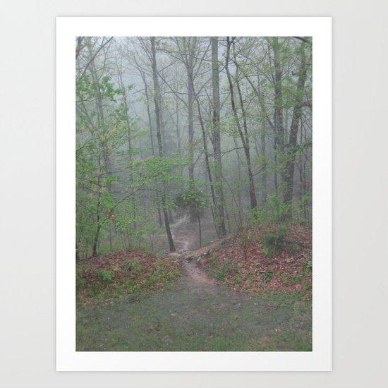 Tennessee Mist Art Print
