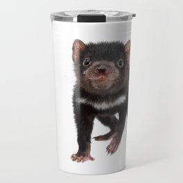 An adorable Tasmanian devil joey Travel Mug