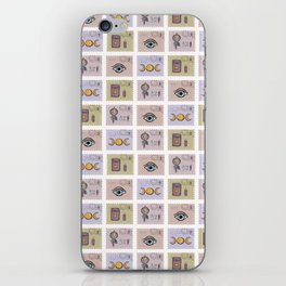 Esoteric Magic Postage Stamps iPhone Skin