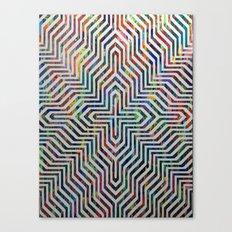 Locking On Canvas Print