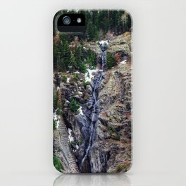 Mountain Pano iPhone Case