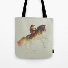 Sloth Riding a Horse Tote Bag
