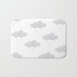 Rainy cloud Bath Mat
