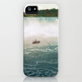 American Falls from Canada - Vintage Niagara - 1898 iPhone Case