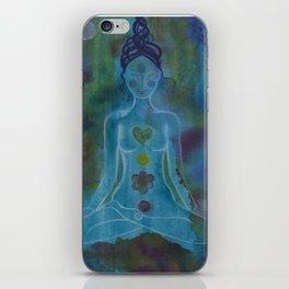 Chakras Yoga Meditation iPhone Skin