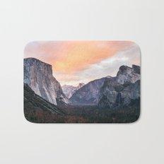Yosemite Tunnel, USA #society6 #decor #buyart Bath Mat