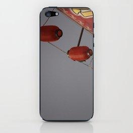Lantern Line-Up iPhone Skin