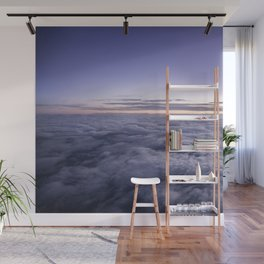 Dreamy clouds in the sky Wall Mural