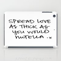 nutella iPad Cases featuring NUTELLA by I Love Decor