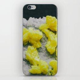 Sulfur on Celestine iPhone Skin