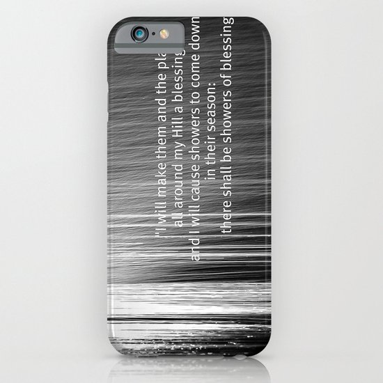 Showers of Blessings iPhone & iPod Case