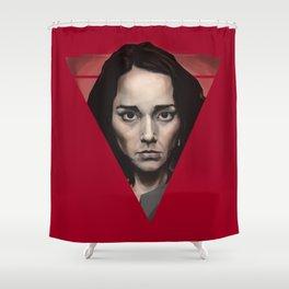 Sandrine Holt Shower Curtain