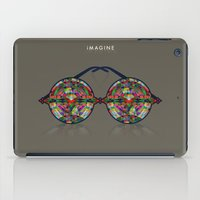 imagine iPad Cases featuring iMAGINE by Deepti Munshaw